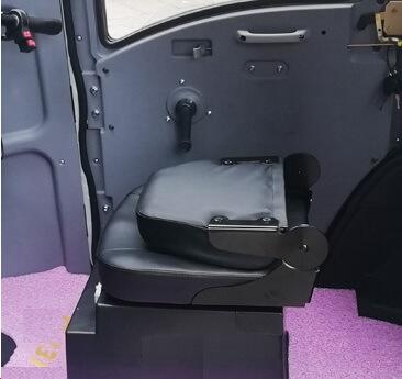 Sæde med klapryk 1