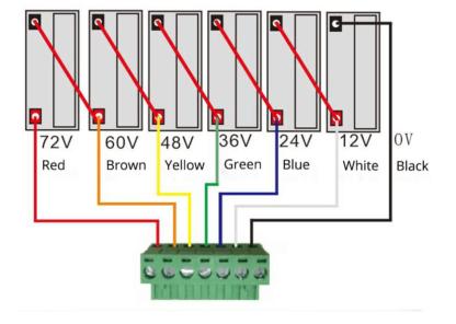 BMS Batteri balance 60V 2