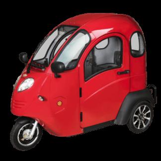 Rød kabinescooter